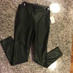 Free People Moss Faux Leather Leggings